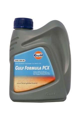Моторное масло GULF Formula PCX SAE 5W-30 (1л)