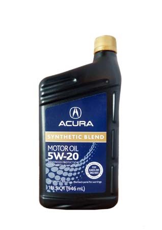 Моторное масло ACURA Synthetic Blend SAE 5W-20 (0,946л)