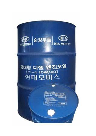 Моторное масло HYUNDAI SAE 10W-40 CI-4 (200л)