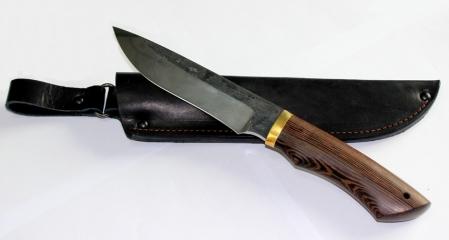 Нож Ястреб (95x18, Венге), KNIFE YARD, 00408