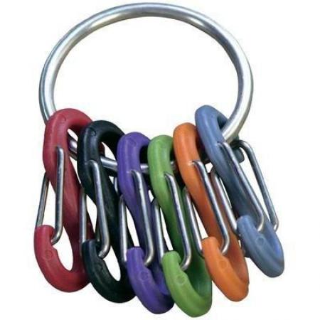 Брелок для ключей NiteIze Key Ring стальной