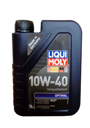 LiquiMoly 10W40 Optimal (1L) масло моторное !синт.\ API SL/CF, ACEA A3-04, B3-04: MB 229.1 LIQUI MOL