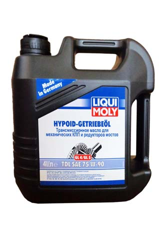 Масло LM Hypoid-Getriebeoil TDL 75W90 (4л) 3939