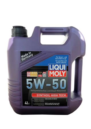 LiquiMoly 5W50 Synthoil High Tech 4L масло мот\ LIQUI MOLY 9067