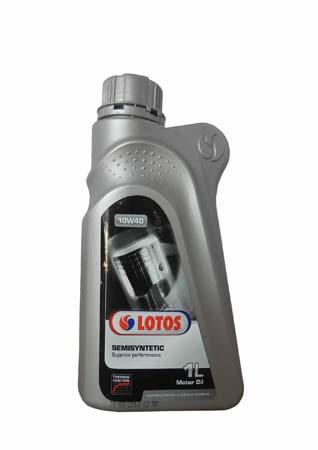 Моторное масло LOTOS Semisynthetic SAE 10W-40 (1л)