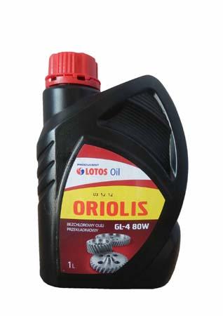 Трансмиссионное масло LOTOS Oriolis GL-4 SAE 80W (1л)