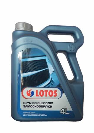 Антифриз готовый LOTOS Car Radiator Coolant (4л)