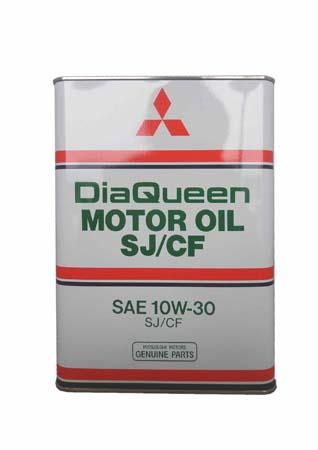 Моторное масло MITSUBISHI DiaQueen SAE 10W-30 SJ/CF (4л)