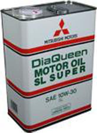 Моторное масло MITSUBISHI DiaQueen SAE 10W-30 SL (4л)