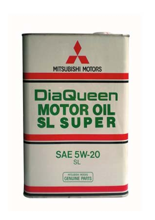 Моторное масло MITSUBISHI DiaQueen SAE 5W-20 SL (4л)