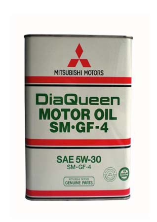 Моторное масло MITSUBISHI DiaQueen SAE 5W-30 SM/GF-4 (4л)