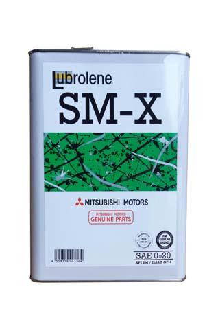 Моторное масло MITSUBISHI Lubrolene SM-Х SAE 0W-20 (4л)