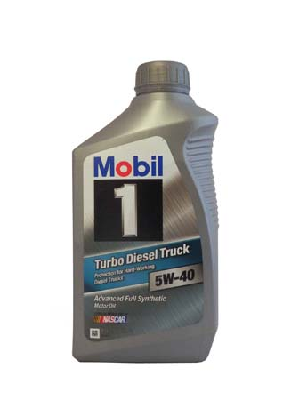Моторное масло MOBIL 1 Turbo Diesel Truck SAE 5W-40 (0,946л)