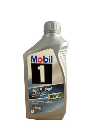 Моторное масло MOBIL 1 High Mileage SAE 10W-30 (0,946л)