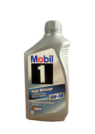 Моторное масло MOBIL 1 High Mileage SAE 5W-30 (0,946л)