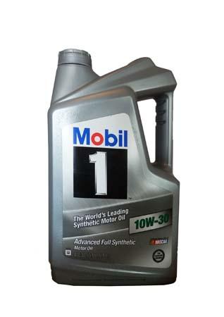 Моторное масло MOBIL 1 SAE 10W-30 (4,83л)