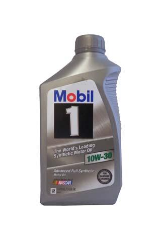 Моторное масло MOBIL 1 SAE 10W-30 (0,946л)