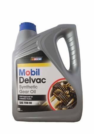 Трансмиссионное масло MOBIL Delvac Syn Gear Oil SAE 75W-90 (3,78л)
