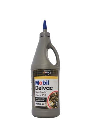 Трансмиссионное масло MOBIL Delvac Syn Gear Oil SAE 75W-90 (0,946л)