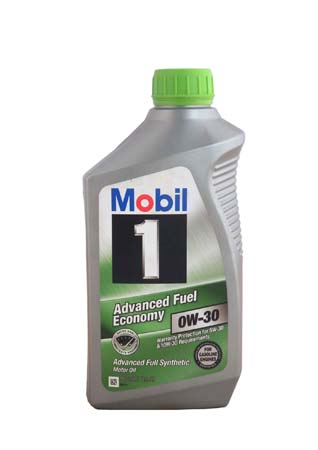 Моторное масло MOBIL 1 Advanced Fuel Economy SAE 0W-30 (0,946л)