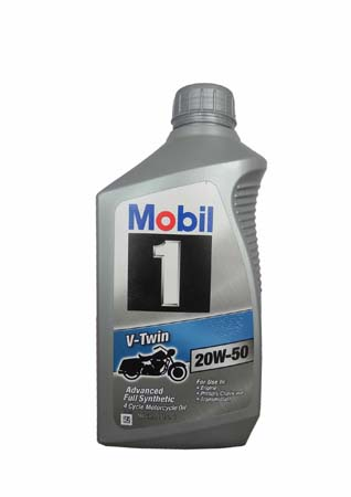 Моторное масло для 4-Такт MOBIL 1 V-Twin SAE 20W-50 (0,946л)