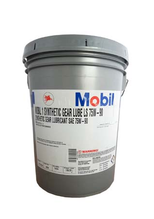 Трансмиссионное масло MOBIL 1 Synthetic Gear Lube LS SAE 75W-90 (18,90л)