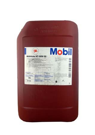 Mоbilube HD 80W-90            API  GL-5  (20л) (1шт.)  масло трансмиссионное  ( мех.трансмис)  12773