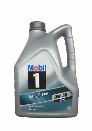 Моторное масло MOBIL 1 Turbo Diesel SAE 0W-40 (4л)