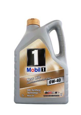 Моторное масло MOBIL 1 New Life SAE 0W-40 (5л) (151053)