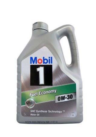 Моторное масло MOBIL 1 Fuel Economy SAE 0W-30 (5л)