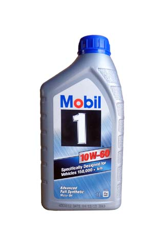 Моторное масло Mobil 1, 10W-60, 1л