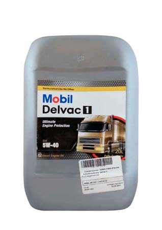 Моторное масло Mobil Delvac 1, 5W-40, 20л