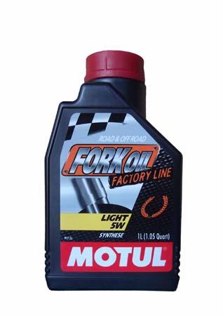 Гидравлическое масло MOTUL Fork Oil FL Light SAE 5W (1л)