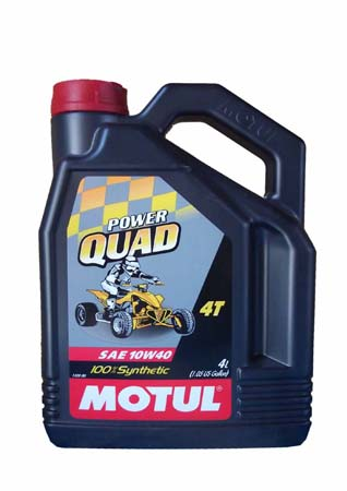 Моторное масло MOTUL Quad Power 4T, 10W-40, 4л, 101469
