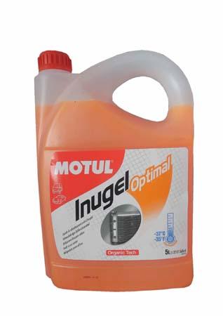 MOTUL  Inugel Optimal оранжевый флуоресцентный охлажд/жидкость  4*5 л  102924