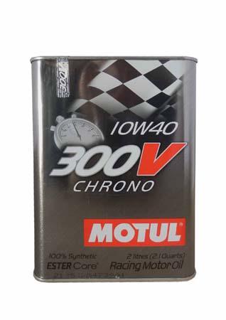 Масло моторное MOTUL 300V CHRONO, 10W-40, 2л, 103135