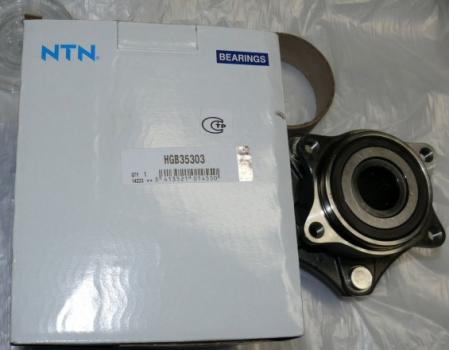 Подшипник ступицы передней и задней, к-кт, SNR, HGB35303