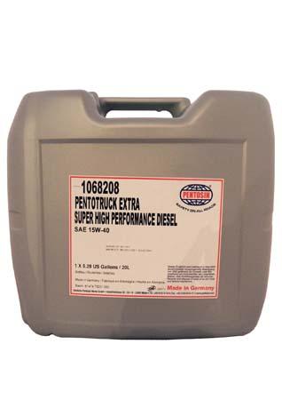Моторное масло PENTOSIN Pentotruck Extra SAE 15W-40 (20л)