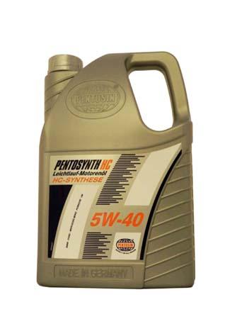 Моторное масло PENTOSIN Pentosynth HC SAE 5W-40 (5л)