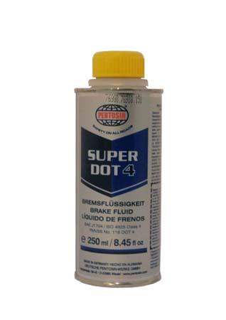 Тормозная жидкость PENTOSIN Super DOT 4 Bremsflussigkeit (250 мл)