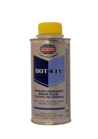Тормозная жидкость PENTOSIN DOT 4 LV Bremsflussigkeit (250мл)