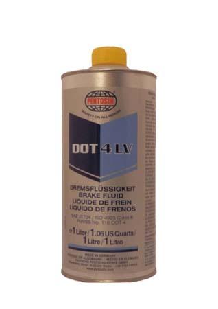 Тормозная жидкость PENTOSIN DOT 4 LV Bremsflussigkeit (1л)