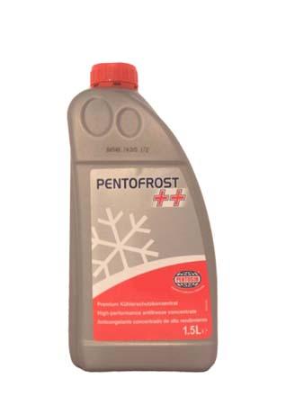 Антифриз концентрированный красно-фиолетовый Pentofrost ++ (1,5л)