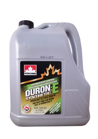 Моторное масло PETRO-CANADA Duron-E Synthetic SAE 5W-40 (4л)