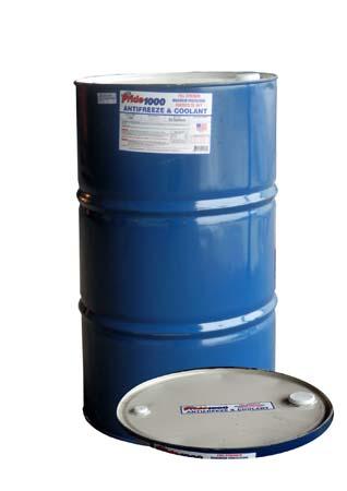 Антифриз концентрированный, зеленый PRIDE 1000 Antifreeze & Coolant Full Strength (208 л)