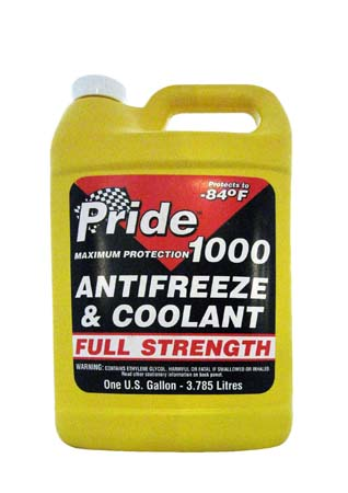 Антифриз концентрированный зеленый PRIDE 1000 Antifreeze & Coolant Concentrated (3,785л)