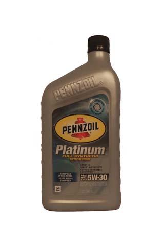 Моторное масло PENNZOIL Platinum European Ultra Diesel SAE 5W-30 (0,946л)
