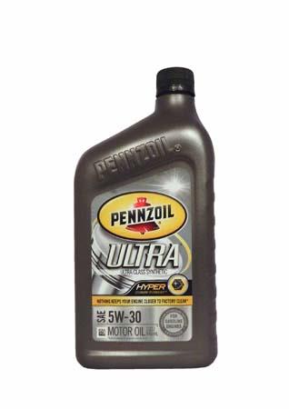 Моторное масло PENNZOIL Ultra SAE 5W-30 (0,946л)**