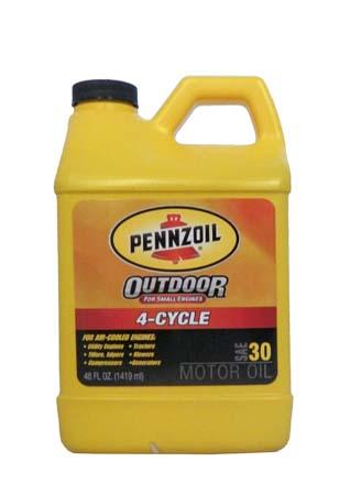 Моторное масло для 4-Такт PENNZOIL Outdoor 4-Cycle SAE 30 (1,419л)