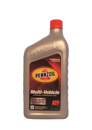 Трансмиссионное масло PENNZOIL Multi-Vehicle ATF (0,946л)